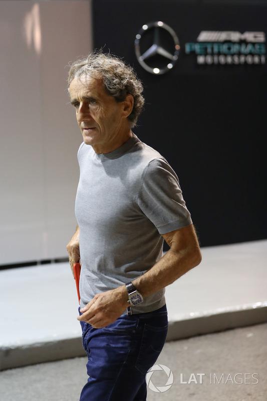 Alain Prost, Renault-Berater