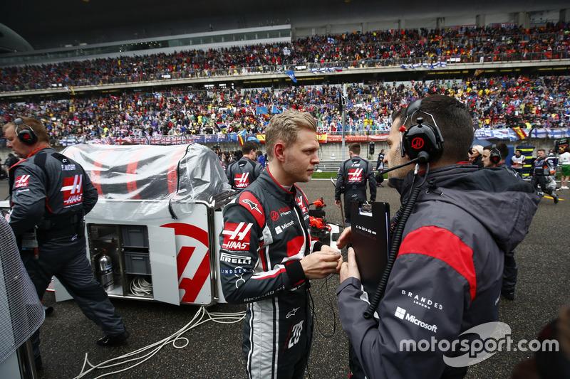 Startaufstellung: Kevin Magnussen, Haas F1 Team