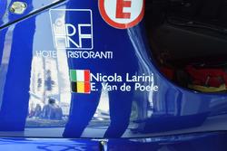 Lamborghini 291 von Nicola Larini und Eric van de Poele