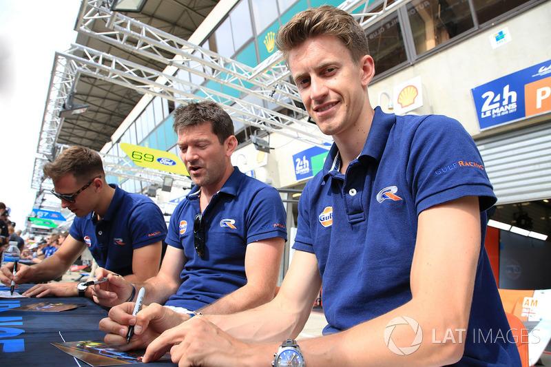 Michael Wainwright, Ben Barker, Nick Foster, Gulf Racing