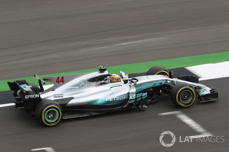2017: Lewis Hamilton, Mercedes F1 W08 EQ Power+