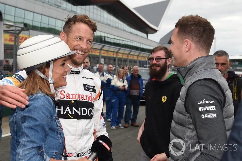 Natalie Pinkham, Sky TV Sports F1, Jenson Button, McLaren, Stoffel Vandoorne, McLaren