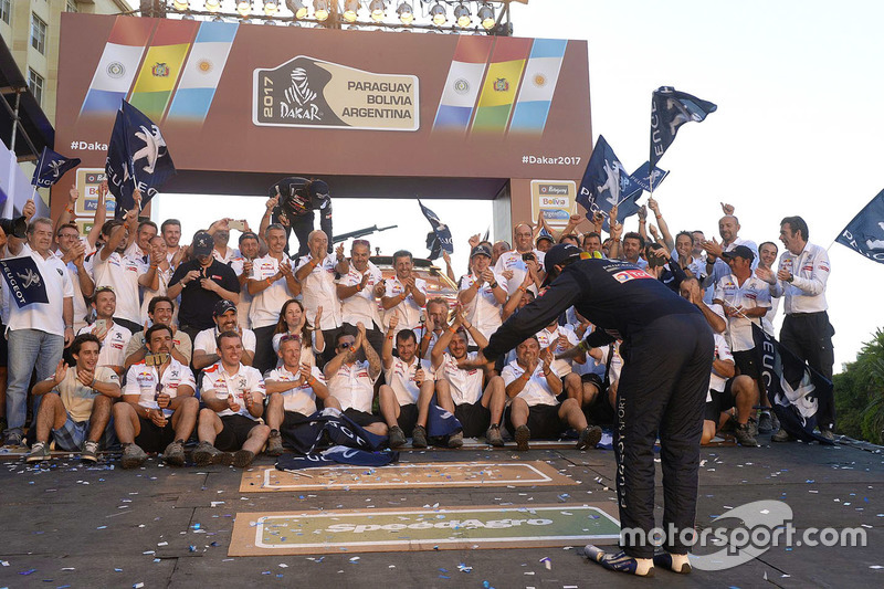 Peugeot Sport celebrations