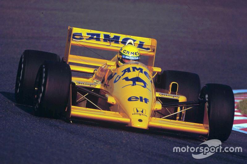 #12 : Ayrton Senna, Team Lotus, Honda 99T