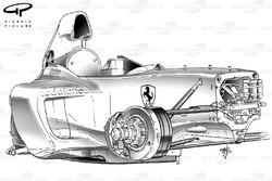 Ferrari F2003-GA 3/4 chassis view