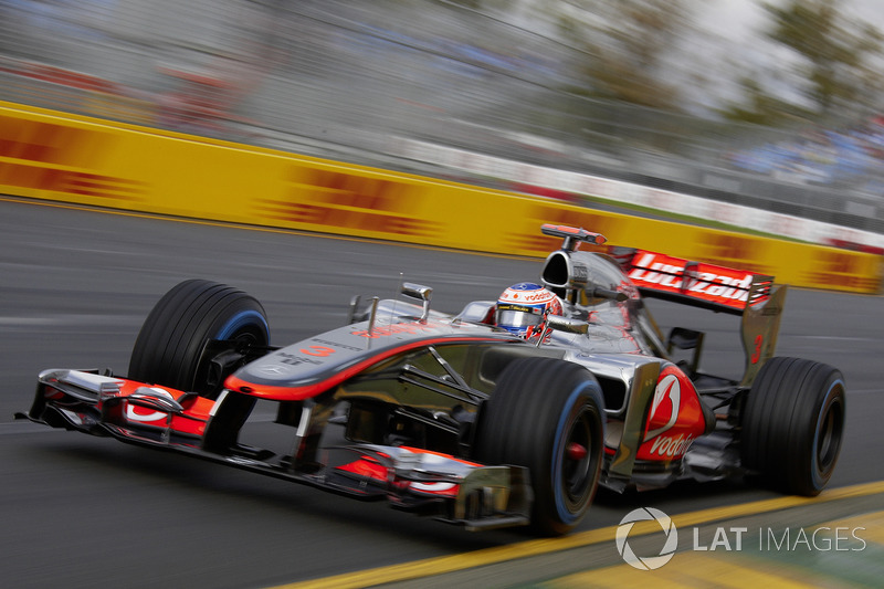 2012 - McLaren MP4-27 (Mercedes engine)