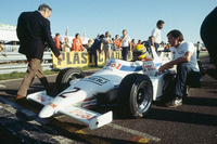 Ayrton Senna, Ralt RT3-Toyota, , mit Dick Bennetts, Teamchef