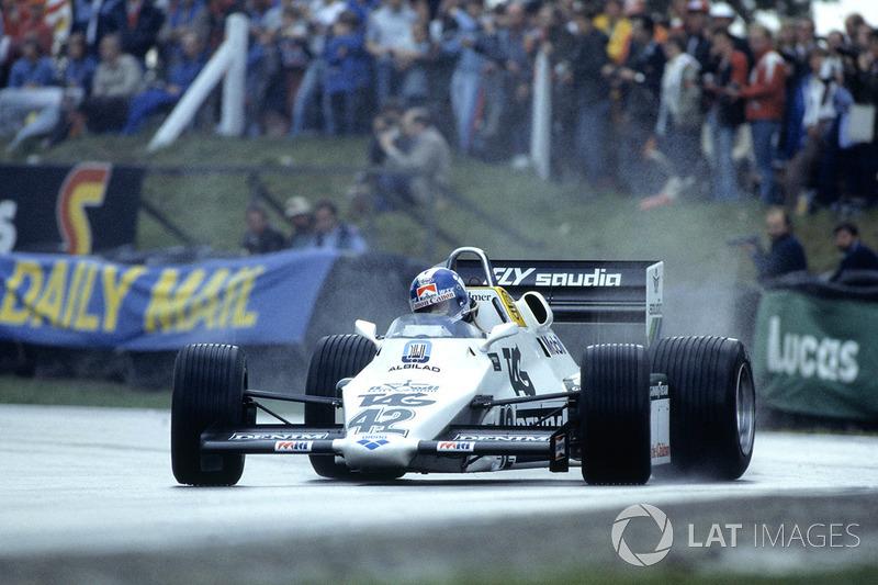 7. Jonathan Palmer, 83 GPs (1983-1989), o melhor resultado é o 4° lugar na Austrália 1987.