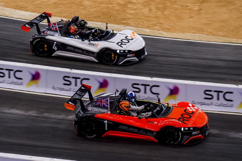 David Coulthard y Petter Solberg con el VUHL 05 ROC Edition