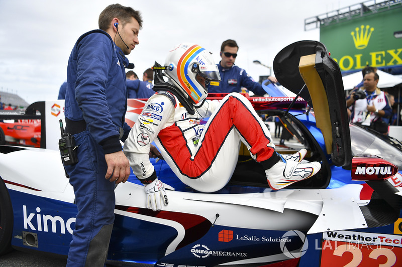 7. #23 United Autosports Ligier LMP2, P:  Fernando Alonso