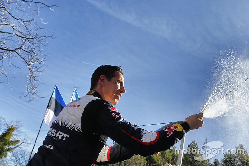 El ganador del Rally de MonteCarlo 2018, Julien Ingrassia, M-Sport Ford