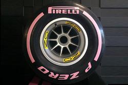 Pirelli pink tyre