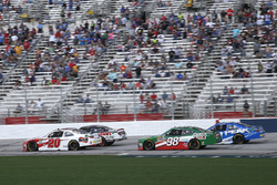 Christopher Bell, Joe Gibbs Racing, Ruud Toyota Camry leads Joey Logano, Team Penske, Discount Tire Ford Mustang, Kevin Harvick, Stewart-Haas Racing with Biagi-Denbeste Racing, Hunt Brothers Pizza Ford Mustang and Kyle Benjamin, Joe Gibbs Racing, Peak Antifreeze & Coolant Toyota Camry