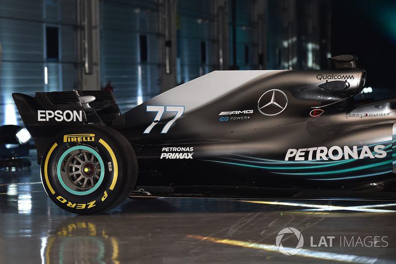 Mercedes AMG F1 W09 rear detail