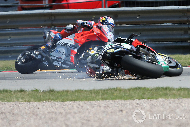 Cal Crutchlow, Team LCR Honda crash