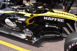 Nico Hulkenberg, Renault Sport F1 Team RS 18, dettaglio della fiancata