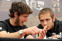 Guy Martin ve Valentino Rossi