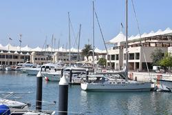 Boten in de Marina