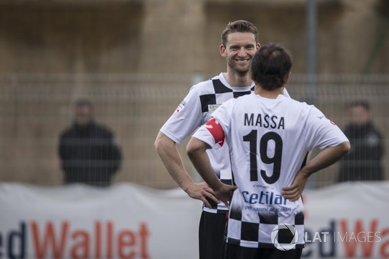Maro Engel ve Felipe Massa