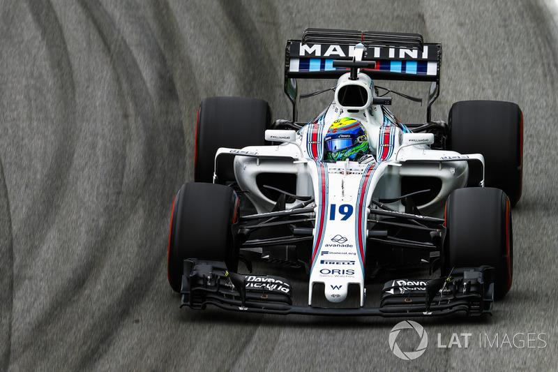 Em seu último GP do Brasil, Felipe Massa larga em nono