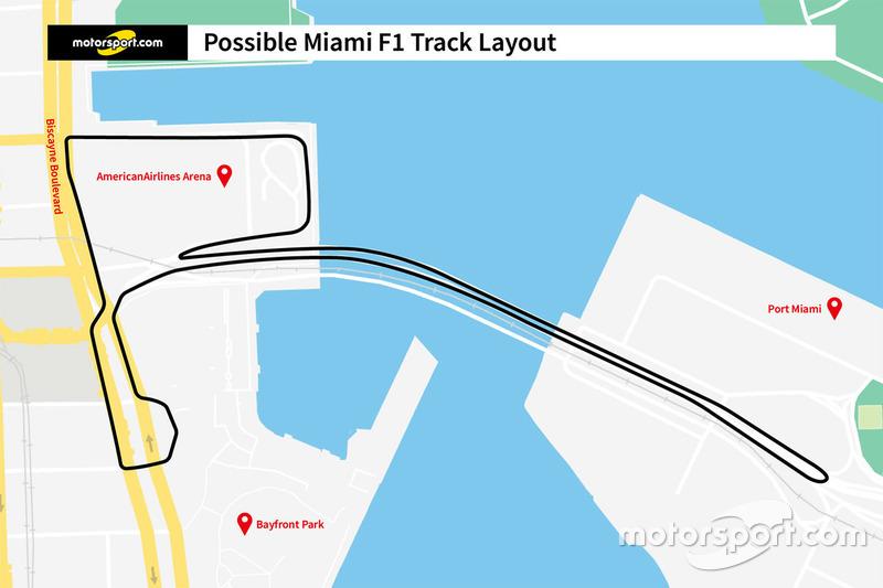 Proposal sirkuit jalan raya F1 Miami