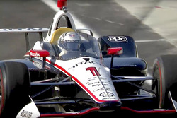 Josef Newgarden, Team Penske Chevrolet, mit Cockpitschutz (Screenshot)