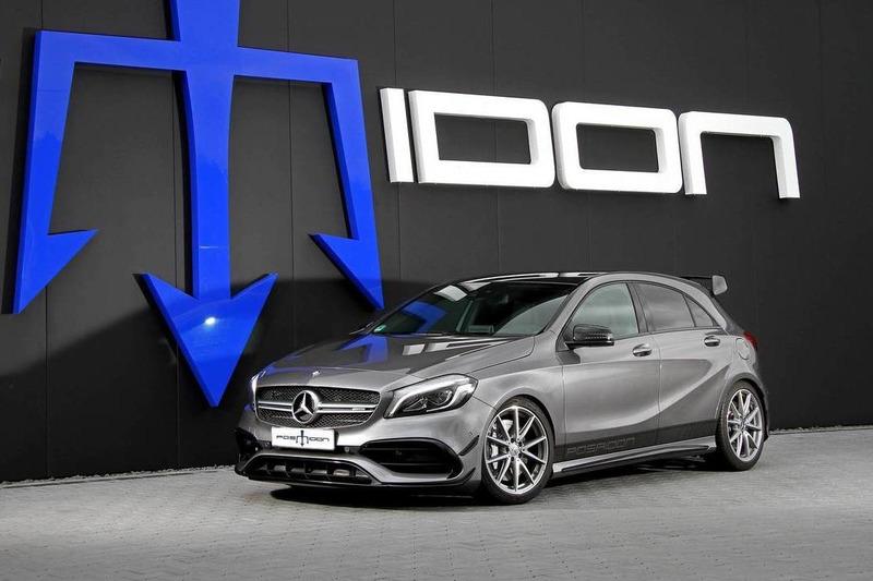 Autó 550 lóerőt pumpált a Posaidon a kifutó Mercedes-AMG A45-be