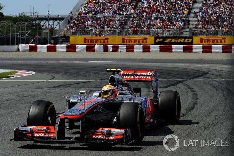 2012: Lewis Hamilton