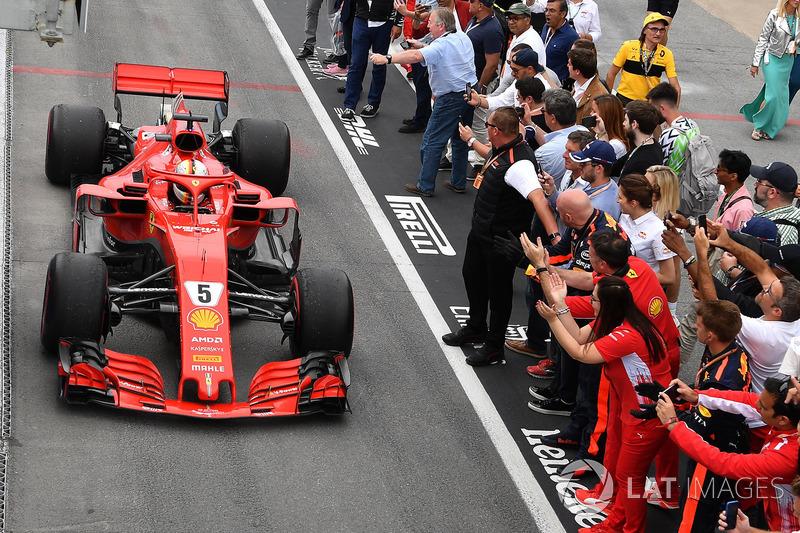 GP de Canadá: Sebastian Vettel