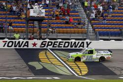 Brett Moffitt, Hattori Racing Enterprises, Toyota Tundra Destiny Homes takes the checkered flag