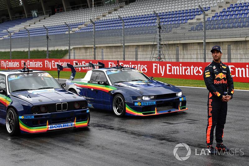 Daniel Ricciardo, Red Bull Racing and drift cars