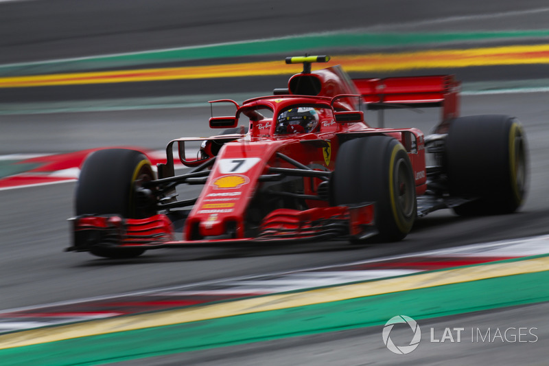 Raikkonen had to ask twice for a pitstop during qualifying