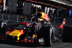 Max Verstappen, Red Bull Racing RB14 con sensores
