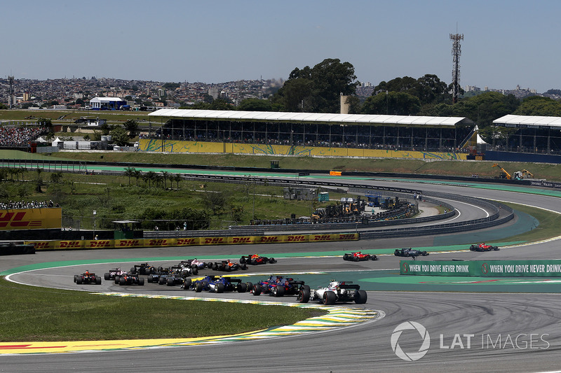Sebastian Vettel, Ferrari SF70H líder l inicio