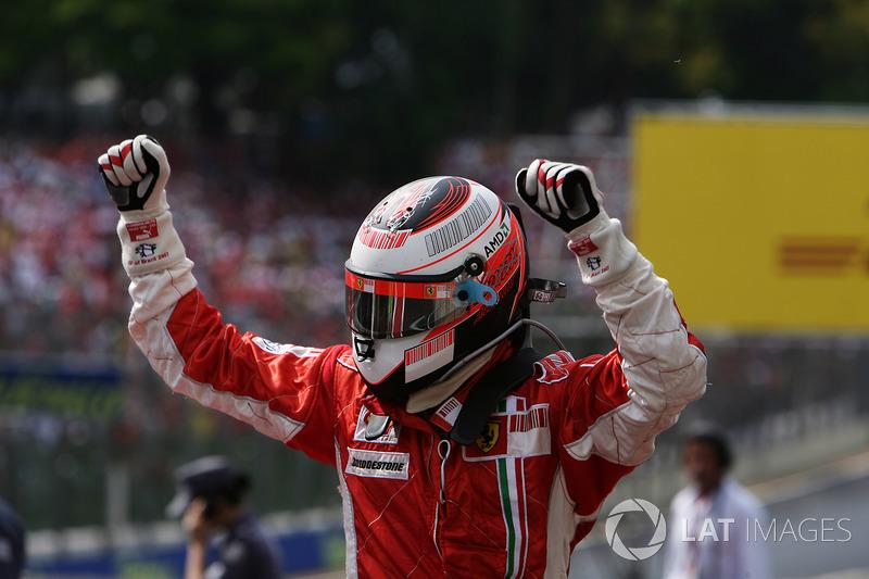 Ganador del GP de Brasil 2007: Kimi Raikkonen, Ferrari