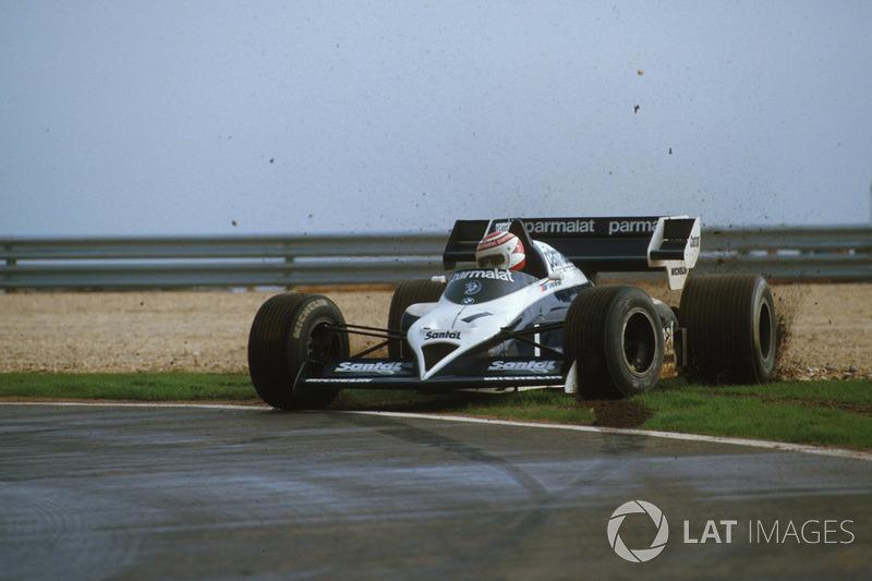 Nelson Piquet, Brabham BT53 tras un trompo