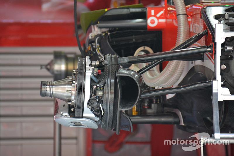 Detail Bremsscheibe, Ferrari SF16-H