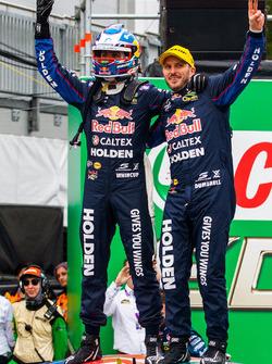 Race winners Jamie Whincup, Paul Dumbrell, Triple Eight Race Engineering Holden