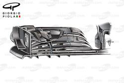 الجناح الامامي لسيارة مكلارين إم.بي4-31 فى اوستن