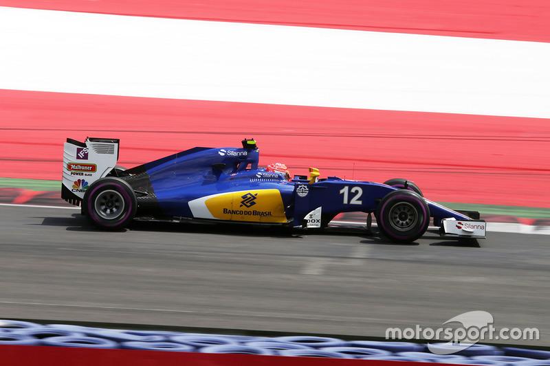 20: Felipe Nasr, Sauber C35 (incluida sanción de 3 posiciones)