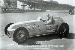 Race winner Johnnie Parsons