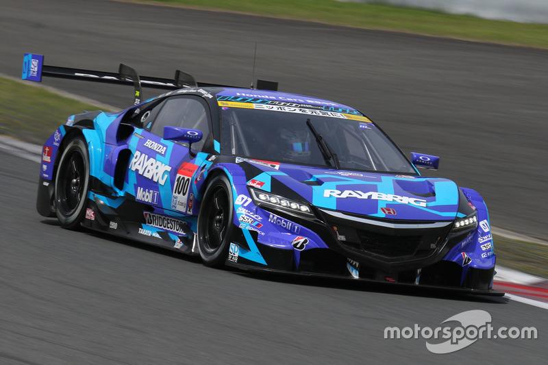 #100 Team Kunimitsu, Honda NSX Concept GT: Naoki Yamamoto, Takuya Izawa