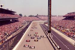Start zum Indy 500 1994: Al Unser Jr., Team Penske, führt