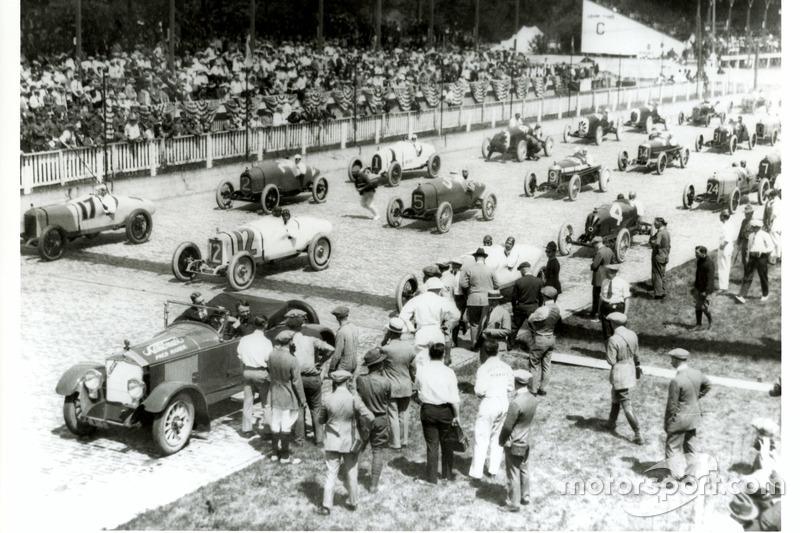 Startopstelling 1922