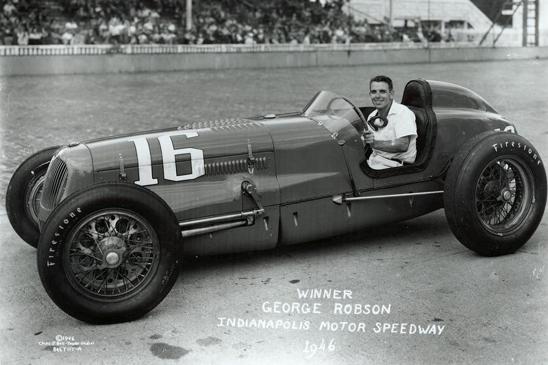 Le vainqueur George Robson, Adams/Sparks