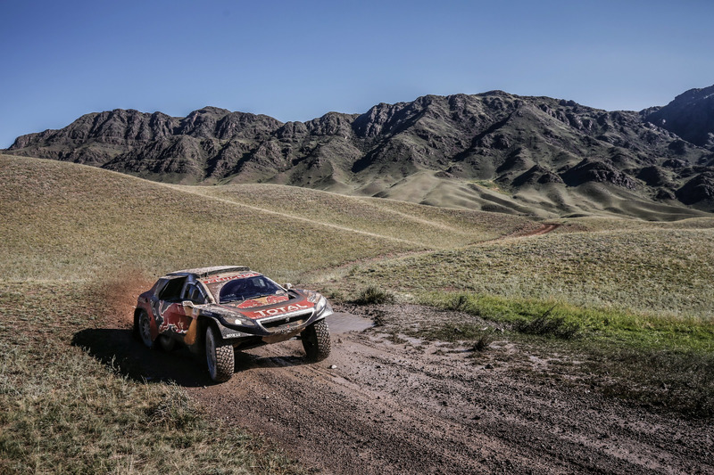 #104 Peugeot: Cyril Despres, David Castera