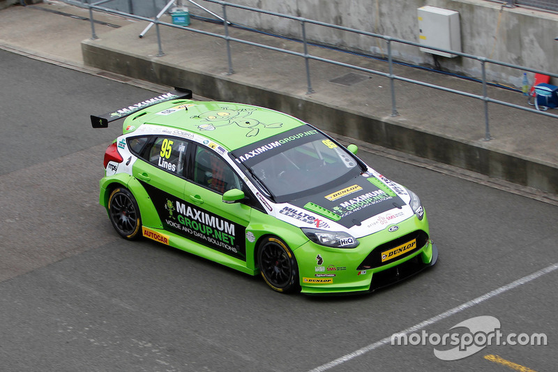 #95 Stewart Lines, Maximum Motorsport, Ford Focus