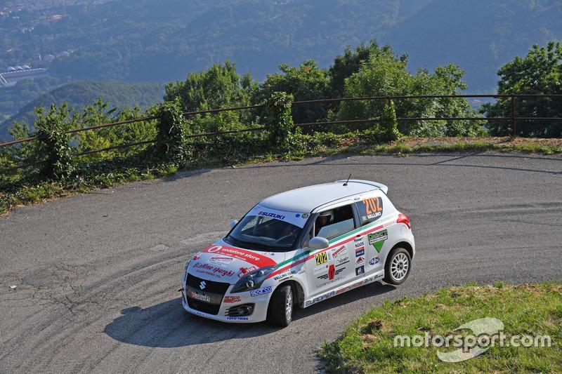 Claudio Vallino, Tiziana Desole (Suzuki Swift R Trofeo R1 #202