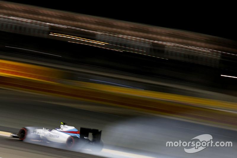 Verbremser von Valtteri Bottas, Williams FW38