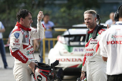 Norbert Michelisz, Honda Racing Team JAS, Honda Civic WTCC, Tiago Monteiro, Honda Racing Team JAS, Honda Civic WTCC
